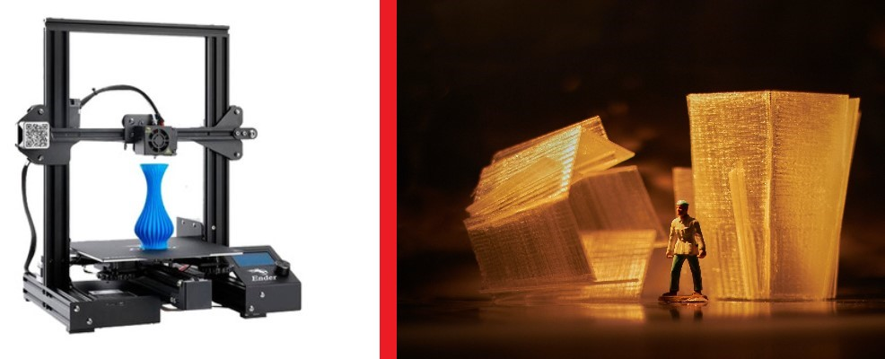 Impresoras 3D y figuras