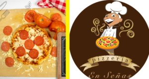 Pizzería en señas Guatemala